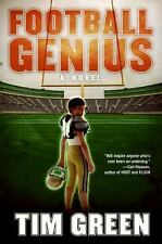 Tim Green~FOOTBALL GENIUS~SIGNED 1ST(7)/DJ~NICE COPY