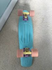 """Pastel Baby Blue REAL Penny Board Skate Hipster Tumblr 22"""""""