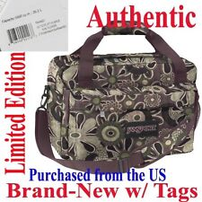 Jansport Luggage TOTE -  PURPLE PASSION SUNFLOWER - Travel Body Sling Shoulder