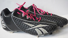 New REEBOK Authentic Collection Play Dry Hardlink Baseball Metal Cleats - Sz 14