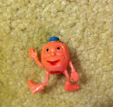 1980's vintage pink pencil topper rare smiley face school writing utensil toy
