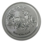 2015 5 oz Silver Australian Perth Mint Lunar Year of the Goat - SKU #84367