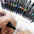 Yellow Nail Art Pen Painting Design Drawing UV Gel Polish Tips Manicure Tool New
