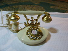 Vintage French Style Rotary Dial Desk Telephone Japan