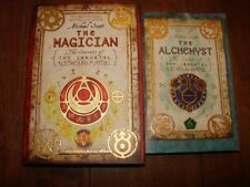 The Alchemyst Bk. 1, The Magician Bk. 2 by Michael Scott (2009, Paperback)