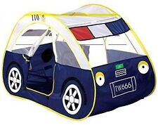 Children's Kids Indoor Outdoor POLICE CAR Pop Up Play Tent House 5008A