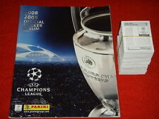 ALBUM FIGURINE PANINI CHAMPIONS LEAGUE 2008 2009 09 VUOTO + SET COMPLETO MINT