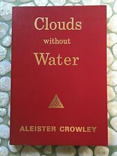 Aleister Crowley - Clouds Without Water - Vintage 1970's Printing - Occult
