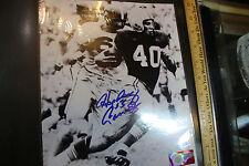 """""""Hopalong"""" Cassady Signed 8x10 B & W Photo Ohio State Buckeyes Football JSH"""