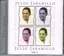 Julio Jaramillo  Platinum Boleros Vol 2 BRAND NEW SEALED   CD