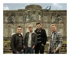 WESTLIFE SIGNED AUTOGRAPHED A4 PP PHOTO POSTER
