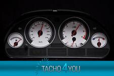 BMW Tachoscheiben Tacho E39 Benzin oder Diesel M5 Carbon 3060 Tachoscheibe X5