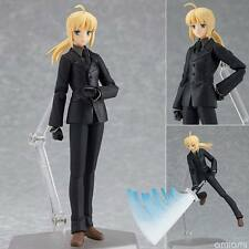 "Anime Fate/Zero Saber Black Suit Ver. 6""/15cm PVC  Action Figure Figma126 No Box"