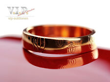 Cartier LOGO Happy Birthday Alliance nuziale 18k ROSA ORO Wedding Band + BOX