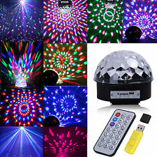 Premium Effect Disco Light Stage DJ Laser Lights club Party Crystal Magic B H1
