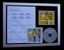 SUGABABES About You Now LTD GALLERY QUALITY CD FRAMED DISPLAY+FAST GLOBAL SHIP