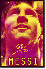 LIONEL MESSI PHOTO PRINT FOOTBALL POSTER GIFT