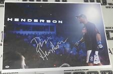 Dan Henderson Signed UFC 20x30 Canvas Photo PSA/DNA COA StrikeForce Auto v Fedor