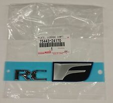 2015 RCF Rear F-Sport Badge emblem NEW genuine Lexus OEM 75443-24170