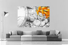 Dragon Ball Z Sangoku ANIME  Wall Art Poster Grand format A0 Large Print
