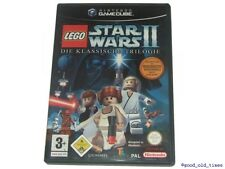 ## LEGO Star Wars 2 (Deutsch) Nintendo GameCube Spiel // GC Spiel - TOP ##