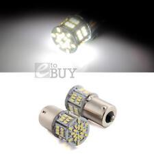 2 x 3W 1156/BA15S SMD3014 54LEDs Ampoule Lampe Bulb Feu Blanc DC12-24V Voiture