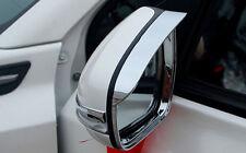 Chrome Side Mirror Eyebrow Cover Trim 2pcs For Suzuki Vitara Escudo 2015 2016