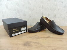 Crockett & Jones New & Lingwood Men's Brown Leather Penny Loafers 7 US 8 E 41