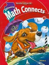 Il Math Connects, Grade 1, Consumable Student Edition, Volume 2 by...