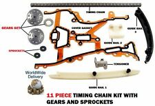 FOR OPEL VAUXHALL  ASTRA G H 1.2 1.4 16V 2000--  TIMING CAM CHAIN KIT WITH GEARS