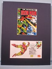 Marvel Comics Hero Iron Man & his own First Day Cover