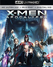 DVD: X-men: Apocalypse 4k Ultra Hd [Blu-ray], . New Cond.: