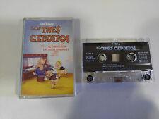 LOS TRES CERDITOS CUENTO VOCES ORIGINALES CINTA TAPE CASSETTE WALT DISNEY 1996