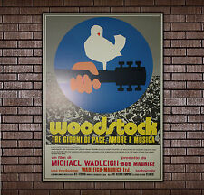 Movie Poster Woodstock - 70x100 CM