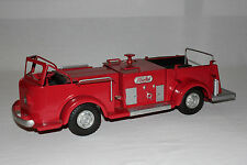 Vintage Doepke Rossmoyne Pressed Steel Fire Pumper Truck 19 Inches Restored L@@K