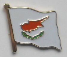 Cyprus Cypriot Country Flag Enamel Pin Badge