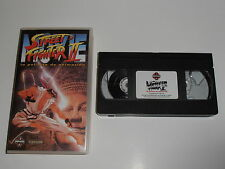 Street Fighter II 2 Pelicula VHS  SF2 The movie Version Española Manga/Anime