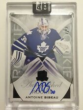 2015-16 The Cup Antoine Bibeau *RARE BLACK PARALLEL ON CARD ROOKIE AUTO* #1/1!!!