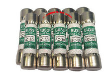Spa pack circuit board *PACK OF 10* FUSES SC-30 Buss class G Time-Delay 30A 300V