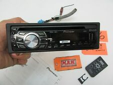PIONEER CD PLAYER RADIO STEREO REMOTE MP3 BLUETOOTH RSX WIRE PLUG DEH-7300BT