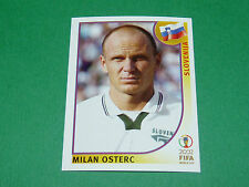 N°131 OSTERC SLOVENIJA PANINI FOOTBALL JAPAN KOREA 2002 COUPE MONDE FIFA WC