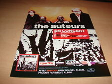 THE AUTEURS - AFTER MURDER PARK!!!!! PUBLICITE / ADVERT