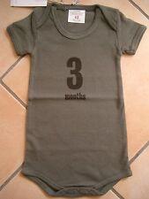 (X192) Imps & Elfs Baby Body Strampler ohne Beine + Druck & Logo Aufnäher gr.62