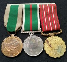 OMAN GROUP OF 3 DIFFERENT MEDALS OF SULTAN QABOOS BIN SAEED RARE FIND L@@K!
