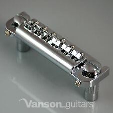 New VANSON Wrap-around Combination Bridge for Les Paul Junior / Jnr, etc, Badass