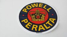 POWELL PERALTA SKATEBOARD STICKER - CROWN LOGO - 15x15cm - Pegatina-Decal-VINYL