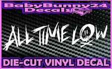ALL TIME LOW  Band Logo Laptop Truck Car Decal Vinyl Sticker Rock Pop Logo B
