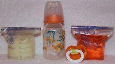 Reborn OOAK Doll Puzzle Piece Bottle Formula Milk & Apple Juice Putty Pacifier