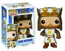 Funko POP Monty Python Holy Grail #197 King Arthur Vinyl Figure NEW