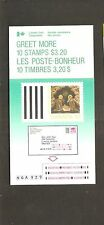 pk22083:Stamps-Canada #BK99 Greet More Christmas 10 x 32 cent Booklet-MNH